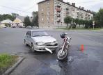 Мотоциклистка устроила аварию в Череповце