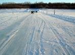 20 ледовых переправ появится на реках Вологодчины