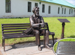 В Великом Устюге установлен памятник мастеру черни Евстафию Шильниковскому