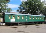 Военно-санитарный поезд времен войны появился в Вологде
