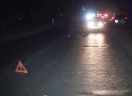В Никольском районе неизвестный сбил пешехода и бросил его на обочине