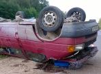 Микроавтобус перевернулся на вологодской трассе: пострадал 7-летний мальчик