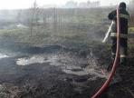 В Вологодском районе горят торфяники