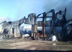 Крупный склад полиэтиленовой пленки сгорел в Вологде