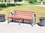 В Вологде установят новые урны и скамейки