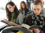 «Читающие автобусы» появятся в Вологде в День славянской письменности