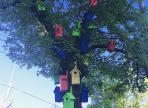 В Вологде появился новый арт-объект – дерево гостеприимности