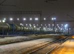 На железнодорожных станциях Вологодчины улучшили освещение