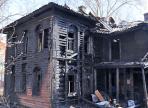 Ночью в областной столице сгорел деревянный памятник архитектуры