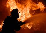 В Вологде сгорел цех по намотке металлических строп