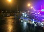 В городе металлургов автомобиль ДПС столкнулся с иномаркой