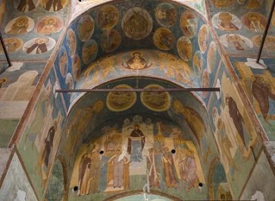 Команда National Geographic отсканировала фрески Дионисия