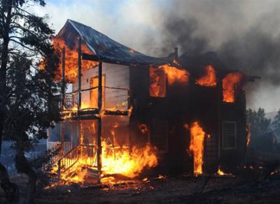 В Череповецком районе в огне погибли две маленькие девочки