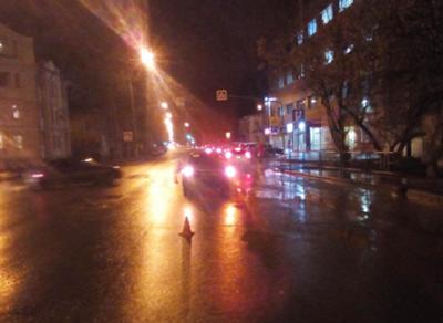 Молодой человек получил травмы в ДТП в областном центре