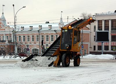 Еще один контракт на уборку улиц планируют заключить в Вологде