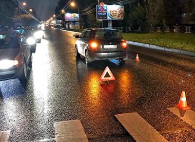 В Вологде женщина-водитель сбила пешехода на зебре