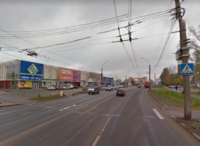 Пешеходный переход исчезнет около здания по адресу Окружное шоссе, 11а