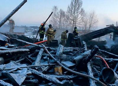 В Вологодской области на пепелище найдены останки мужчины