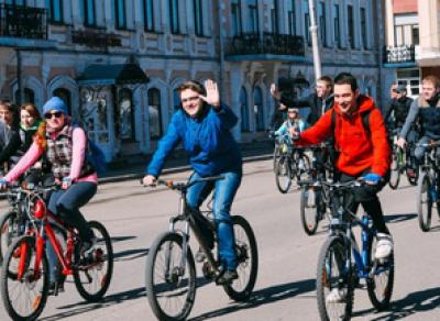 Велосезон официально стартует в областной столице 24 апреля