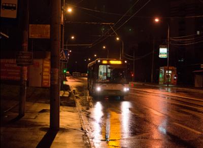 В новогоднюю ночь автобусы будут работать до 3-х часов ночи