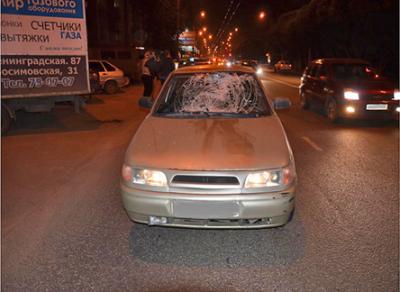 ДТП со смертельным исходом произошло на улице Ленинградской в Вологде
