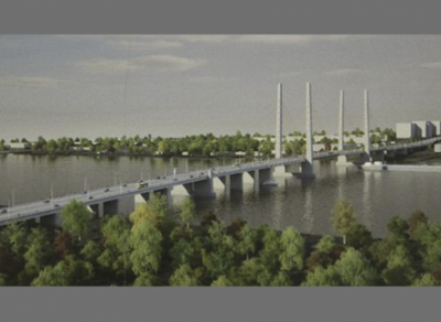 В Череповце началось строительство нового моста
