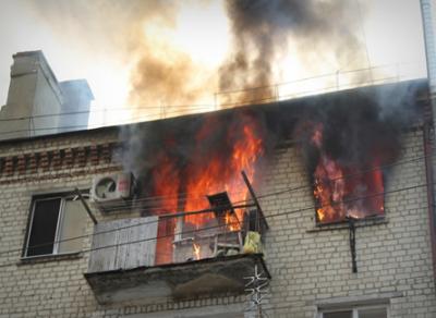 В Фетинино ребенок «играл с огнем» и устроил пожар в квартире