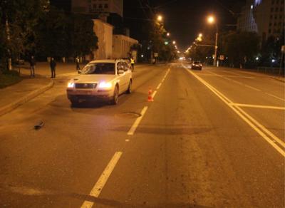 В областном центре иномарка насмерть сбила пешехода