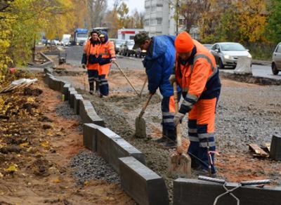 Ремонт улицы Гончарной продолжается в Вологде