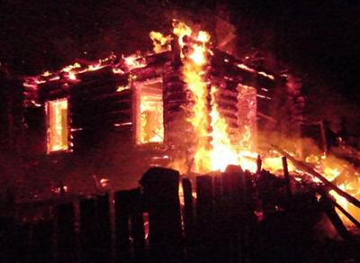 В Великоустюгском районе на пепелище найдены останки мужчины