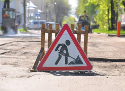 Движение по улице Козленской в Вологде ограничено
