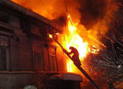 В горевшем доме в Вологде обнаружили тело мужчины