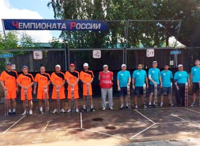 Сборная Вологодской области заняла 4-е место на чемпионате России по городошному спорту