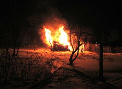 В областной столице в пожаре погибли двое мужчин