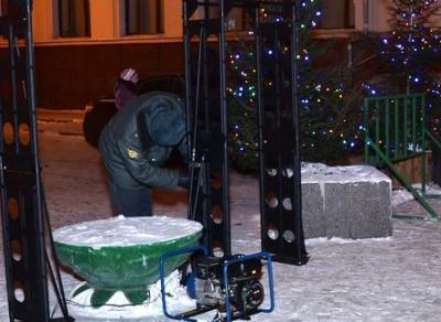 Усиленная охрана на площади Революции будет работать в новогоднюю ночь