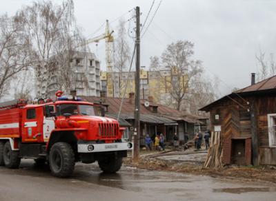 В Вологде в пожаре на улице Череповецкой погибли два человека
