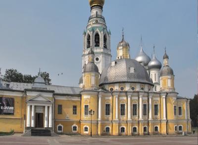 Первая служба в Воскресенском кафедральном соборе пройдет 4 декабря 2016 года