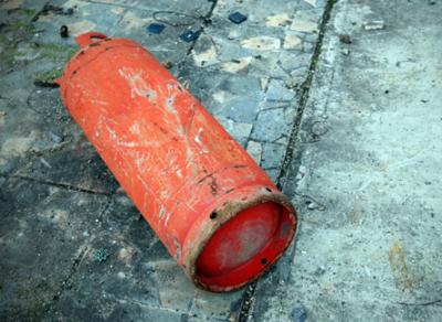 В Вологде взорвался баллон с газом