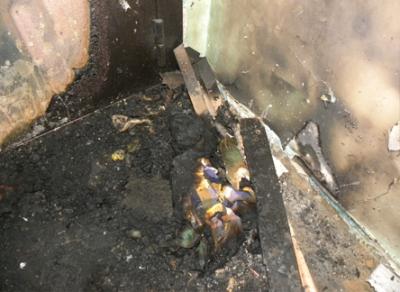 11 человек спасли огнеборцы из пожара на улице Кирпичной в областной столице