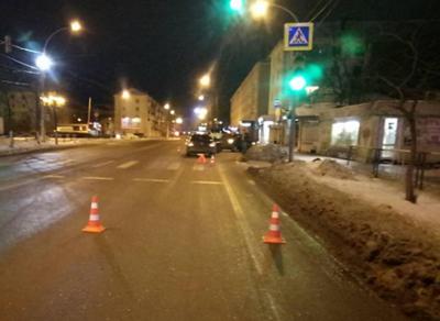 В центре Вологды в ДТП девушка получила серьезные травмы