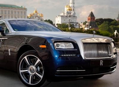 В России растут продажи авто класса люкс