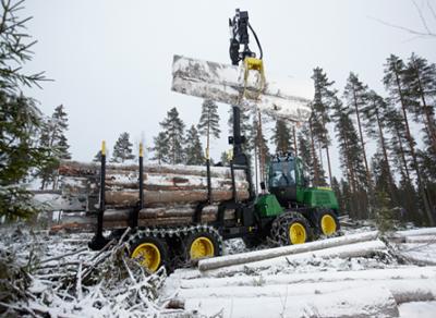 Открыт учебный класс операторов лесозаготовительной техники