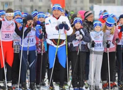 Более 5 000 вологжан встали на лыжи в эти выходные