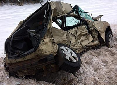 Водитель иномарки погиб в ДТП на территории Сокольского района