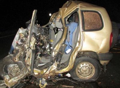 Череповчанин погиб в страшной аварии на Вологодской трассе сегодня ночью